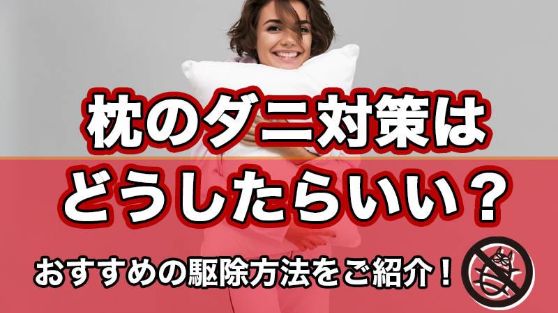 枕のダニ対策