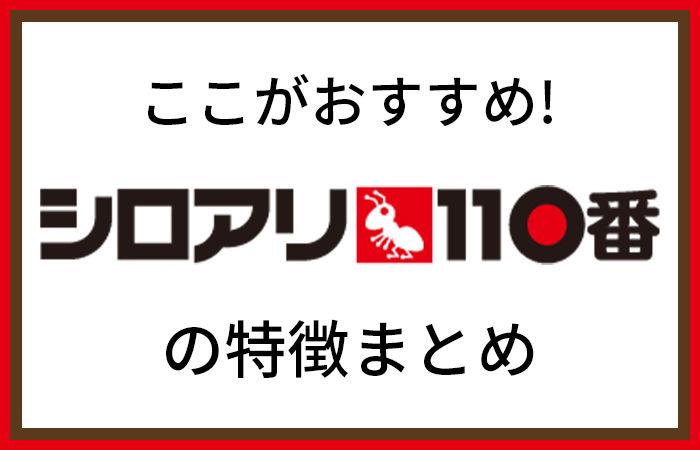 シロアリ110番